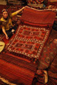 Unusual persian carpet