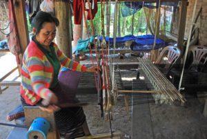 Laos weaver