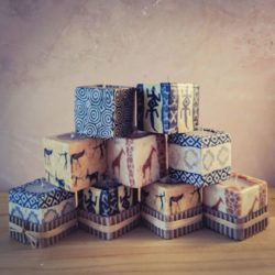 Mini Cube candles