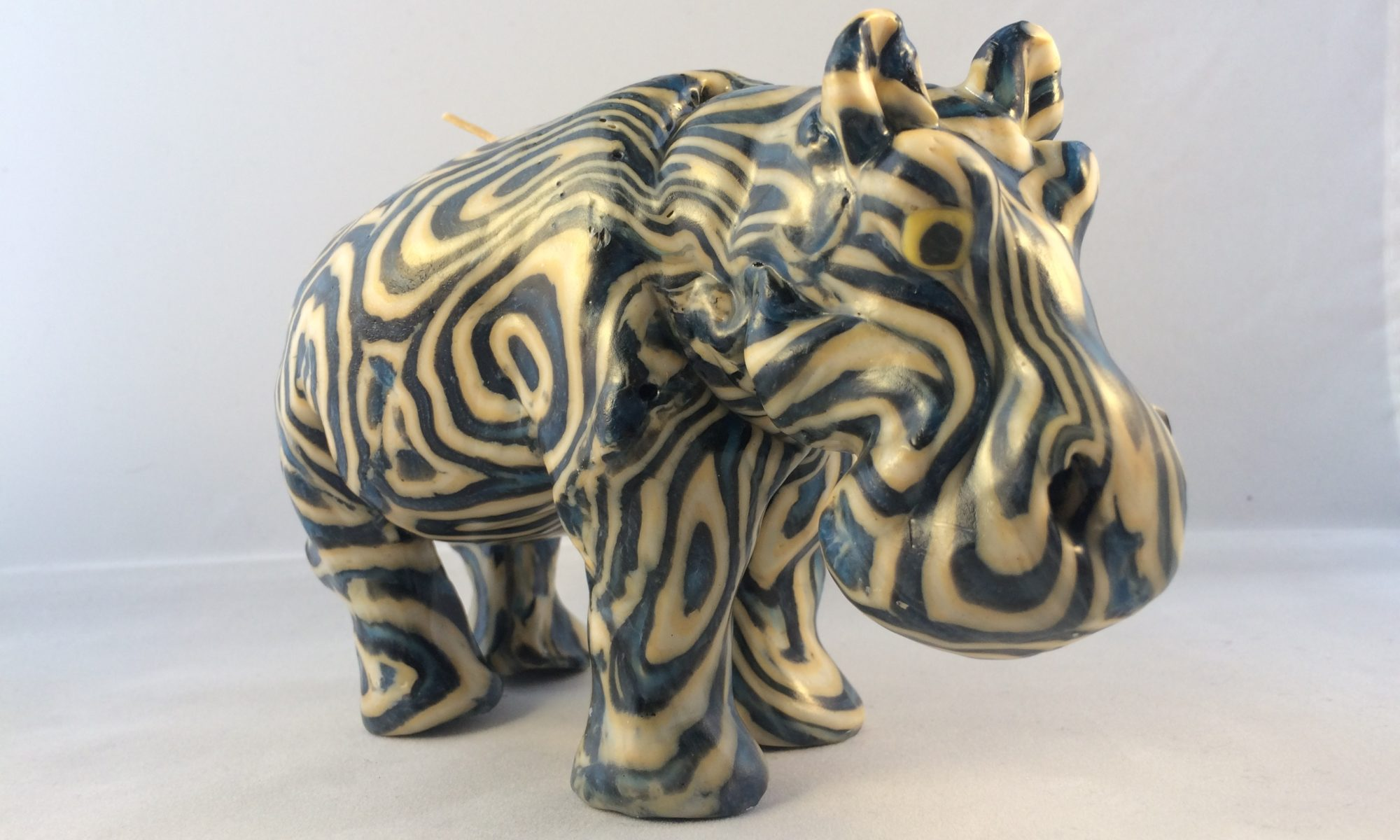 Swazi hippo candles