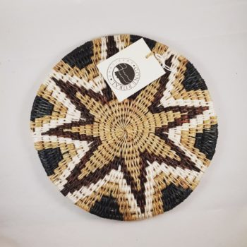 Gone rural fairtrade trivet with star pattern