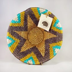 Handmade fair trade basket