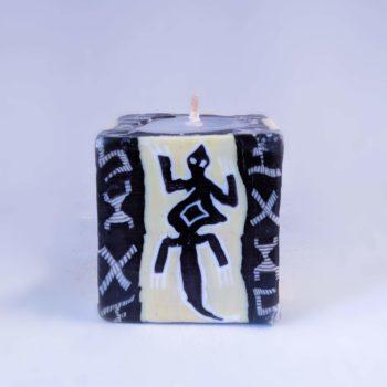 Lizard candle