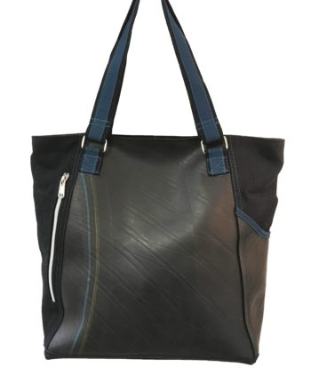 Jupitor tote bag made from recycled tyres