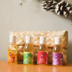 4 mini bottle massage gift set