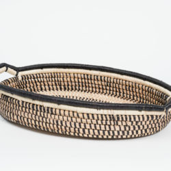 hand woven two handled Tray