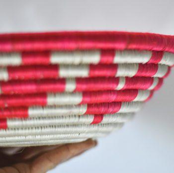 Heart detail on side of basket