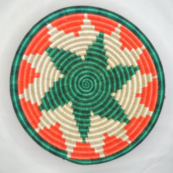 Star pattern basket
